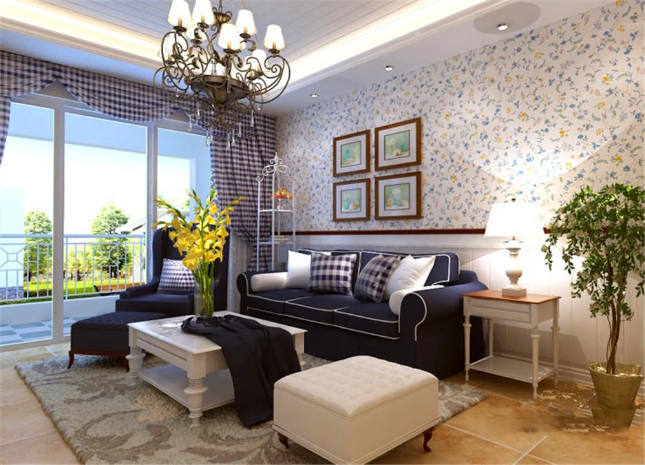 地中海 龙阳一号 慕尚家居 家装 二居 80后 收纳 客厅图片来自慕尚族在龙阳一号82㎡地中海的分享