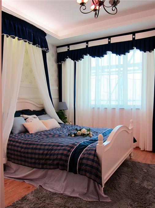 地中海 龙阳一号 慕尚家居 家装 二居 80后 收纳 卧室图片来自慕尚族在龙阳一号82㎡地中海的分享