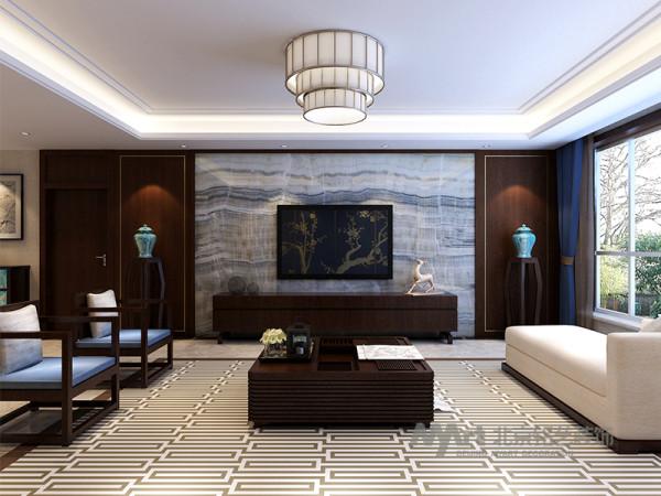 设计师对中国元素准确的把握、运用和组合呈现出了一个具有东方文化底蕴,又兼具现代、时尚的居家空间。