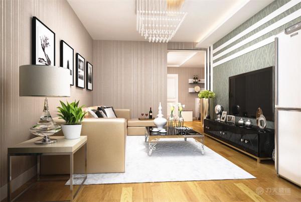户型是春阳南里88平米的的一个两室两厅一厨一卫的户型,整体风格为现代简约,因为成本的控制所以在整体上没有太多的造型。