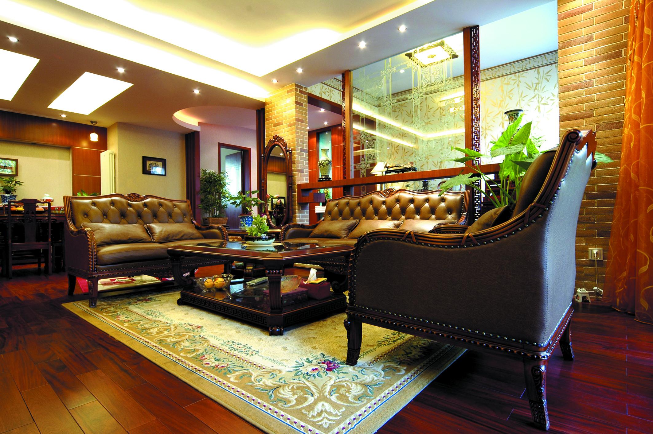 别墅 收纳 小资 客厅图片来自广州生活家家居在东南亚风格的分享