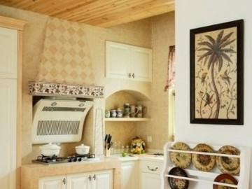 夏日田园风 清新小厨房设计推荐