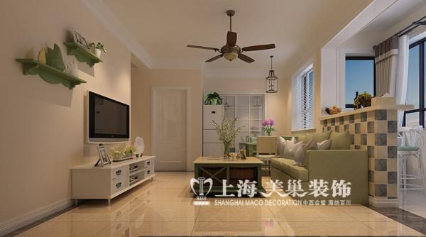 建业贰号城邦BI户型89平两室两厅现代简约风格装修效果图--客厅
