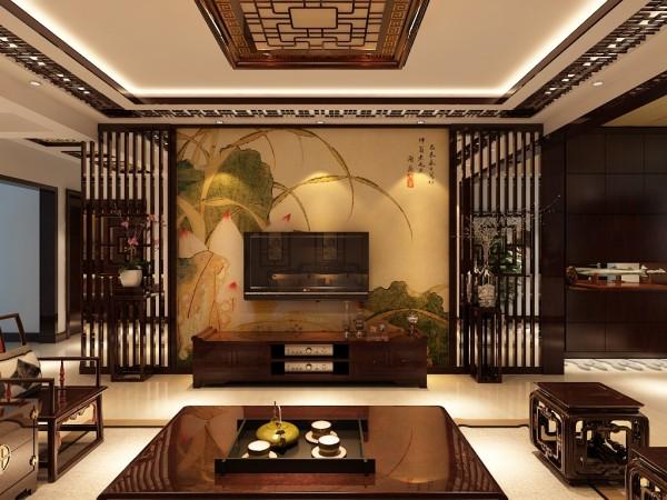 信达尚城157平中式风格