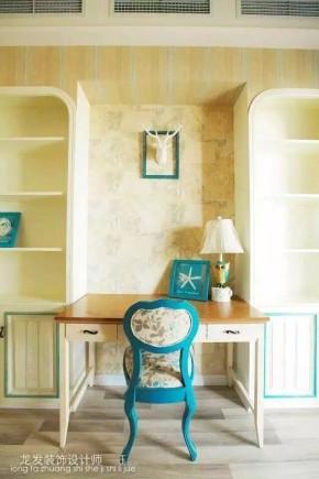 简约 混搭 公寓 小清新 书房图片来自成都装修找龙发在保利贝森公馆 混搭风格的分享
