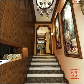 三居 美式 小资 80后 收纳 白领 楼梯图片来自快乐彩在青特花溪地美式大气奢华实创装饰的分享
