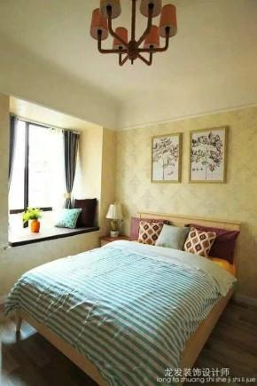 简约 混搭 公寓 小清新 卧室图片来自成都装修找龙发在保利贝森公馆 混搭风格的分享