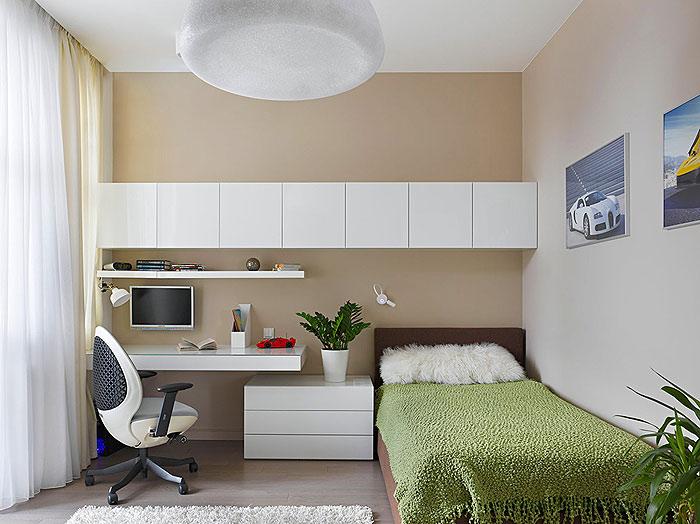 简约 二居 收纳 小资 卧室图片来自亚光亚装饰在天通苑北的分享
