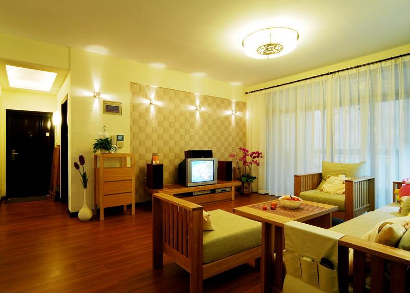 简约 三居 白领 收纳 旧房改造 客厅图片来自装饰装修-18818806853在光与影的结合赋于空间生命的分享