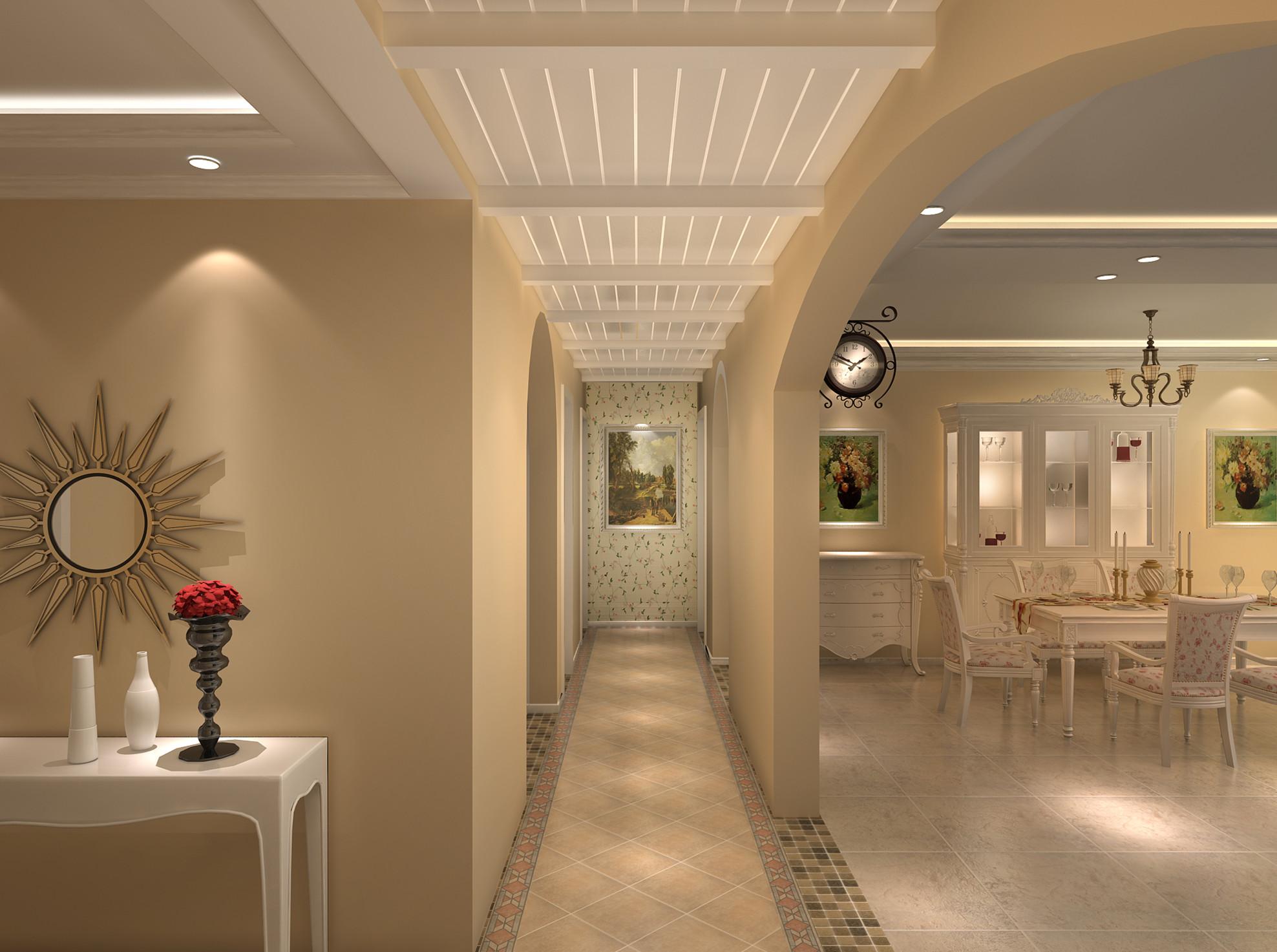 田园 三居 白领 收纳 旧房改造 80后 小资 卧室图片来自实创装饰完美家装在阳光波尔多东区220平田园风格的分享