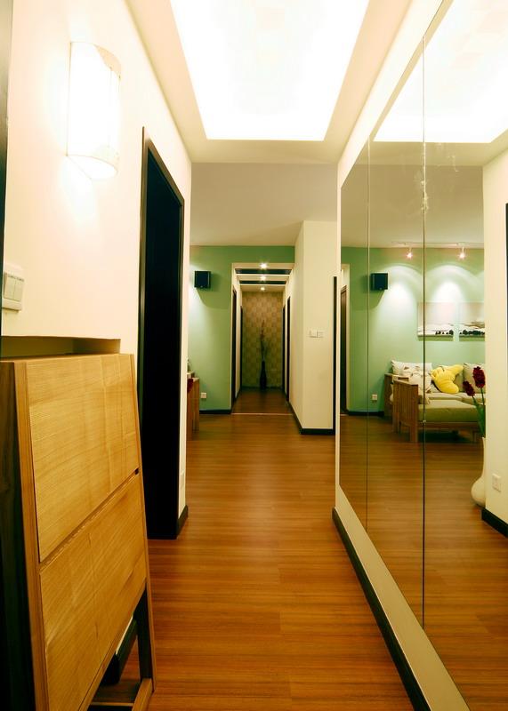 简约 三居 白领 收纳 旧房改造 玄关图片来自装饰装修-18818806853在光与影的结合赋于空间生命的分享