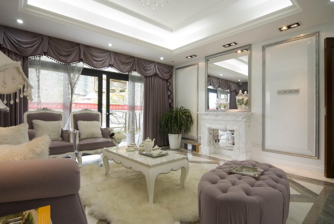 客厅图片来自广州生活家家居在白欧的分享
