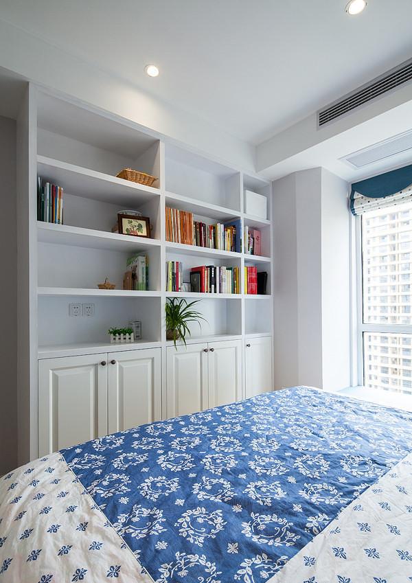 89平简约美式居-卧室设计
