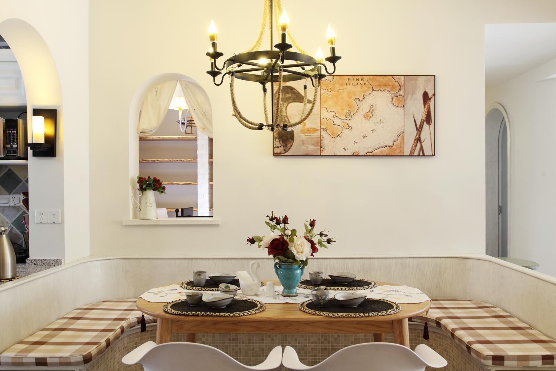 餐厅图片来自小若爱雨在设计让整个空间得到利用的分享