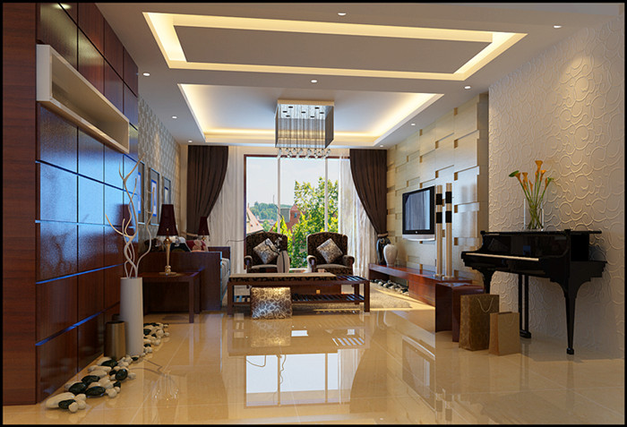 简约 三居 旧房改造 客厅图片来自北京今朝装饰郭风在锦顺家园现代简约的分享