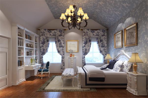 细致周到的细节处理,典雅大气的设计风格,设计师为业主营造了完美的家住环境。客厅:典雅 卧室:温馨宁静。
