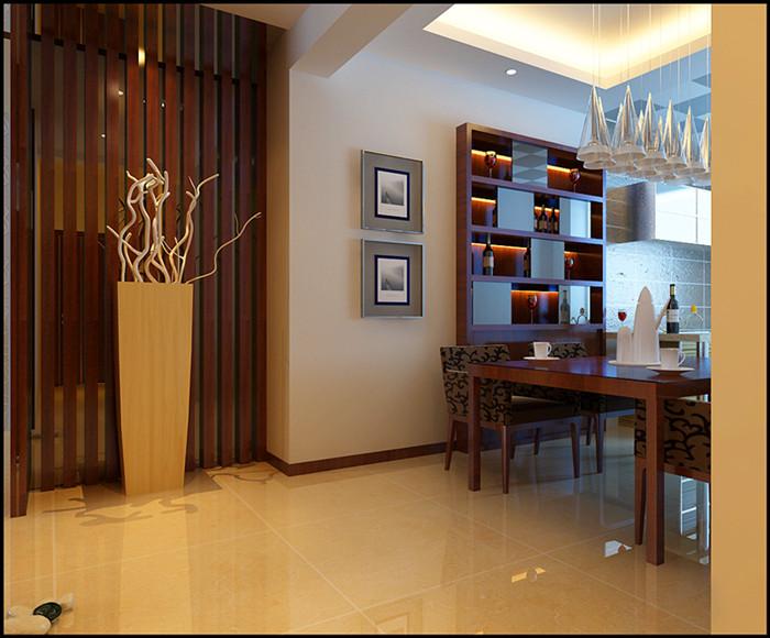 简约 三居 旧房改造 餐厅图片来自北京今朝装饰郭风在锦顺家园现代简约的分享