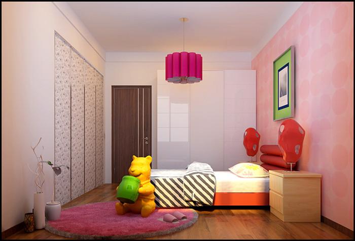 简约 三居 旧房改造 儿童房图片来自北京今朝装饰郭风在锦顺家园现代简约的分享