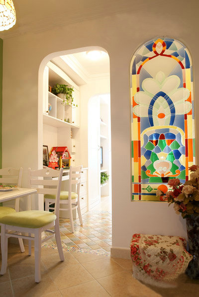 田园 收纳 旧房改造 80后 小资 餐厅图片来自今朝老房专家在田园的分享