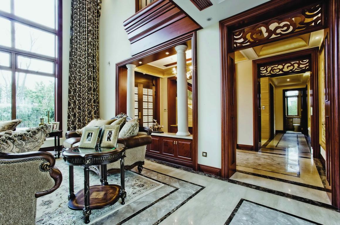 欧式 别墅 收纳 小资 客厅图片来自广州生活家家居在经典欧式的分享