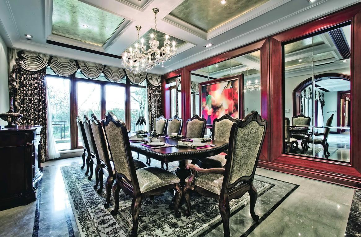 欧式 别墅 收纳 小资 餐厅图片来自广州生活家家居在经典欧式的分享