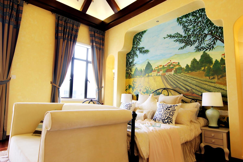 卧室图片来自小若爱雨在田园大户型跃层的分享