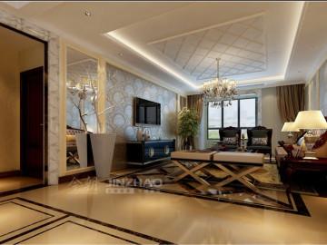 华侨城天鹅堡H户型167四室新古典