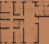 蓝堡湾200平新中式装修效果图