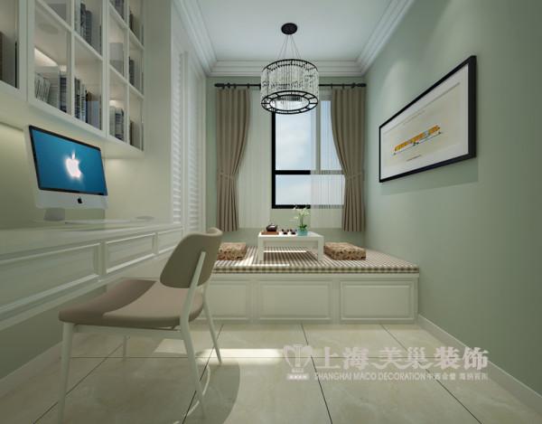 升龙城现代简约风格装修案例89平两室两厅样板间效果图——卧室