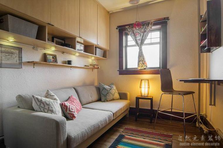 碧海云天 混搭风 二居 书房图片来自自然元素装饰在碧海云天混搭风装修案例的分享