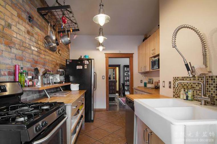碧海云天 混搭风 二居 厨房图片来自自然元素装饰在碧海云天混搭风装修案例的分享