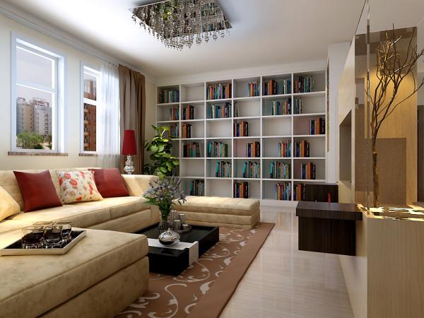 但看客厅当中沙发与书架,感觉正厅比较调、同时色彩,风格搭配上面做到了极致。以及衣柜是嵌入式定制版衣柜。也是容易简易清扫。