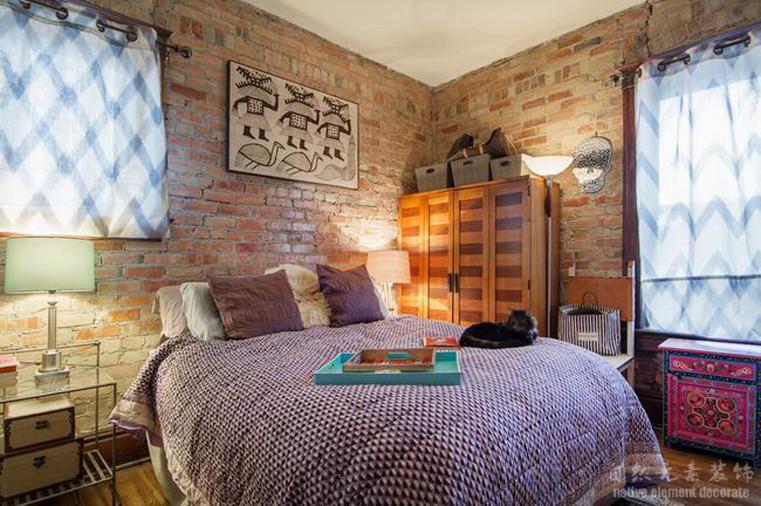碧海云天 混搭风 二居 卧室图片来自自然元素装饰在碧海云天混搭风装修案例的分享
