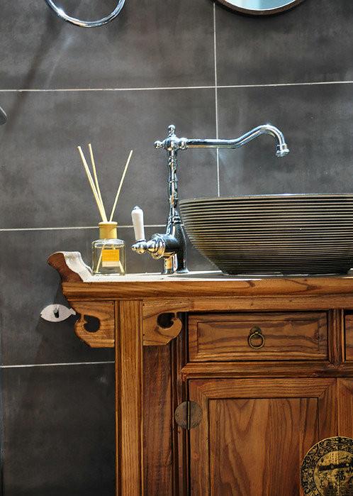 卫生间洗手池细节