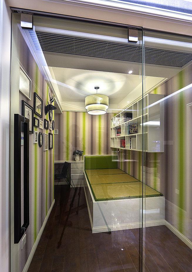书房图片来自家装大管家在爱上一个城市 160平现代港式3居的分享