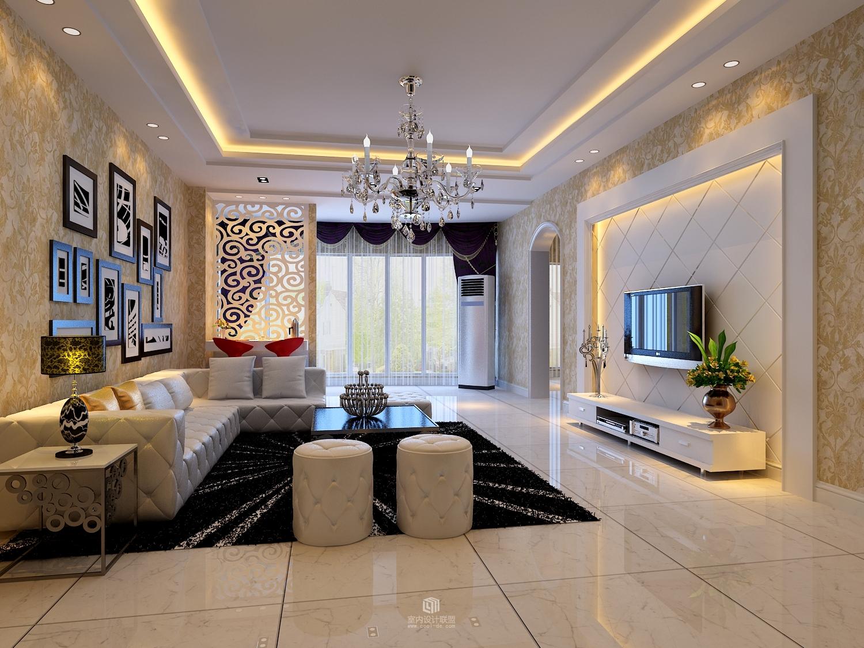 客厅图片来自北京二手房装修在二手房装修效果图的分享