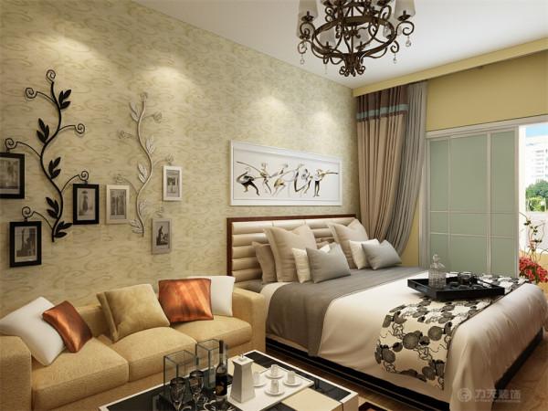 本案为新兴里户型两室一厅一厨一卫60平米的户型。这次的设计风格定义为现代简约风格。