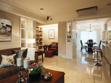 128平北欧田园风格温馨公寓