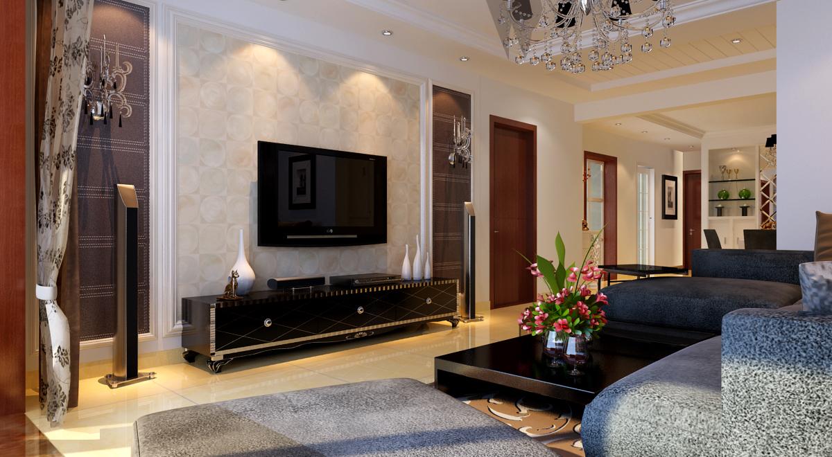 简约 混搭 二居 白领 收纳 客厅图片来自合肥实创装饰李东风在华润中心凯旋门-110平米-混搭的分享