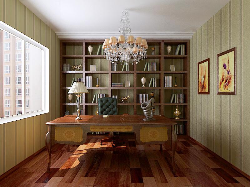 三居 收纳 小资 白领 书房图片来自广州生活家家居在现代风格西美185的分享