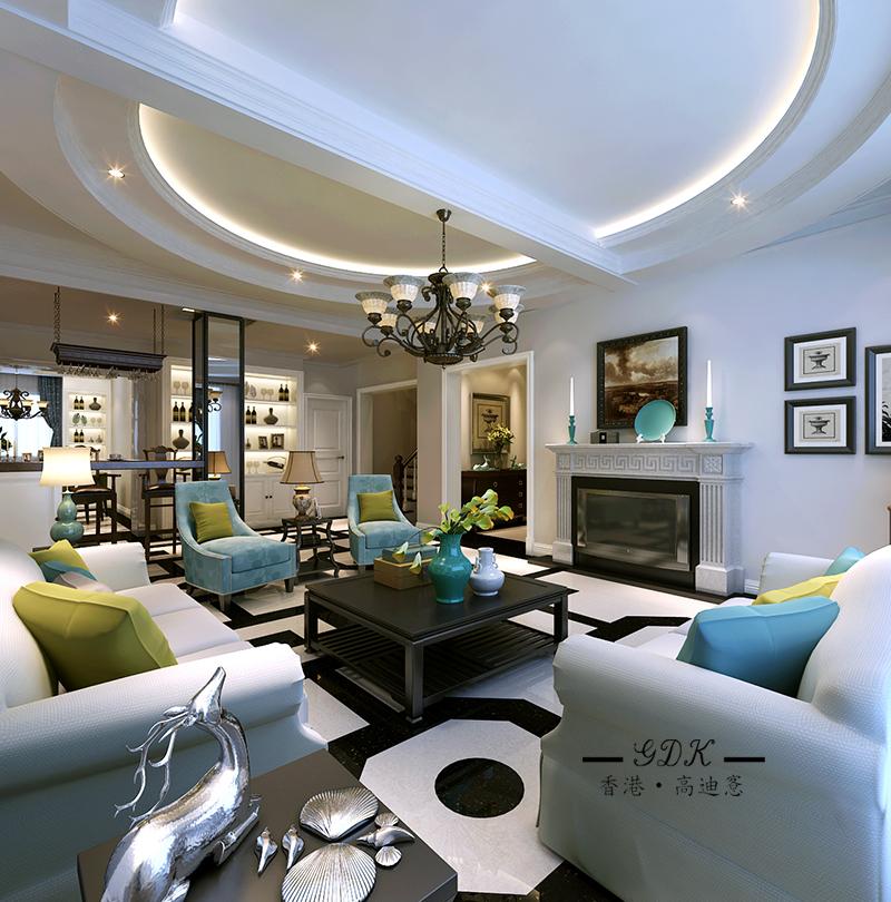 客厅图片来自高迪愙室内设计-常傑在扬州水乡的分享