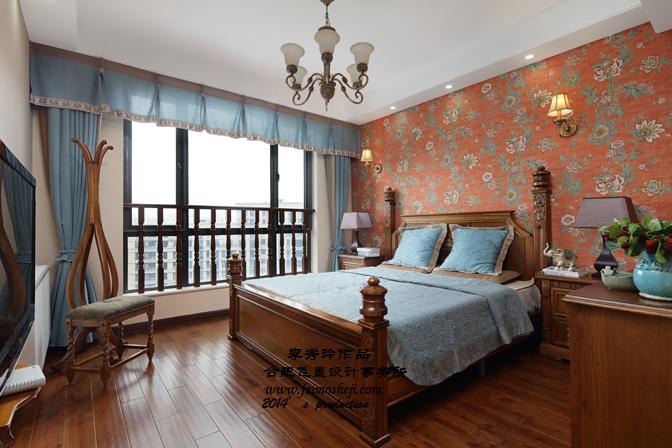 三居 混搭 小资 卧室图片来自合肥飞墨李秀玲设计在灌木丛蓉的分享