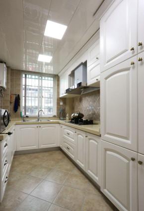 简约 三居 美式 简美 小资 清新 小清新 厨房图片来自佰辰生活装饰在缤纷夏日温馨之家 87平两室一厅的分享