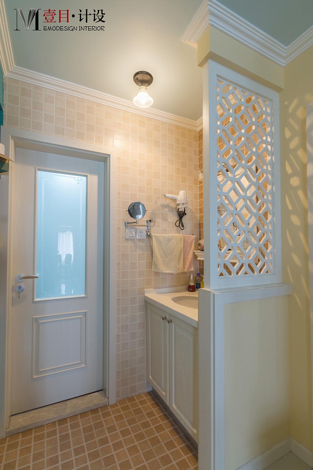 二居 混搭 收纳 旧房改造 80后 小资 卫生间图片来自壹目设计在《壹目设计》的分享