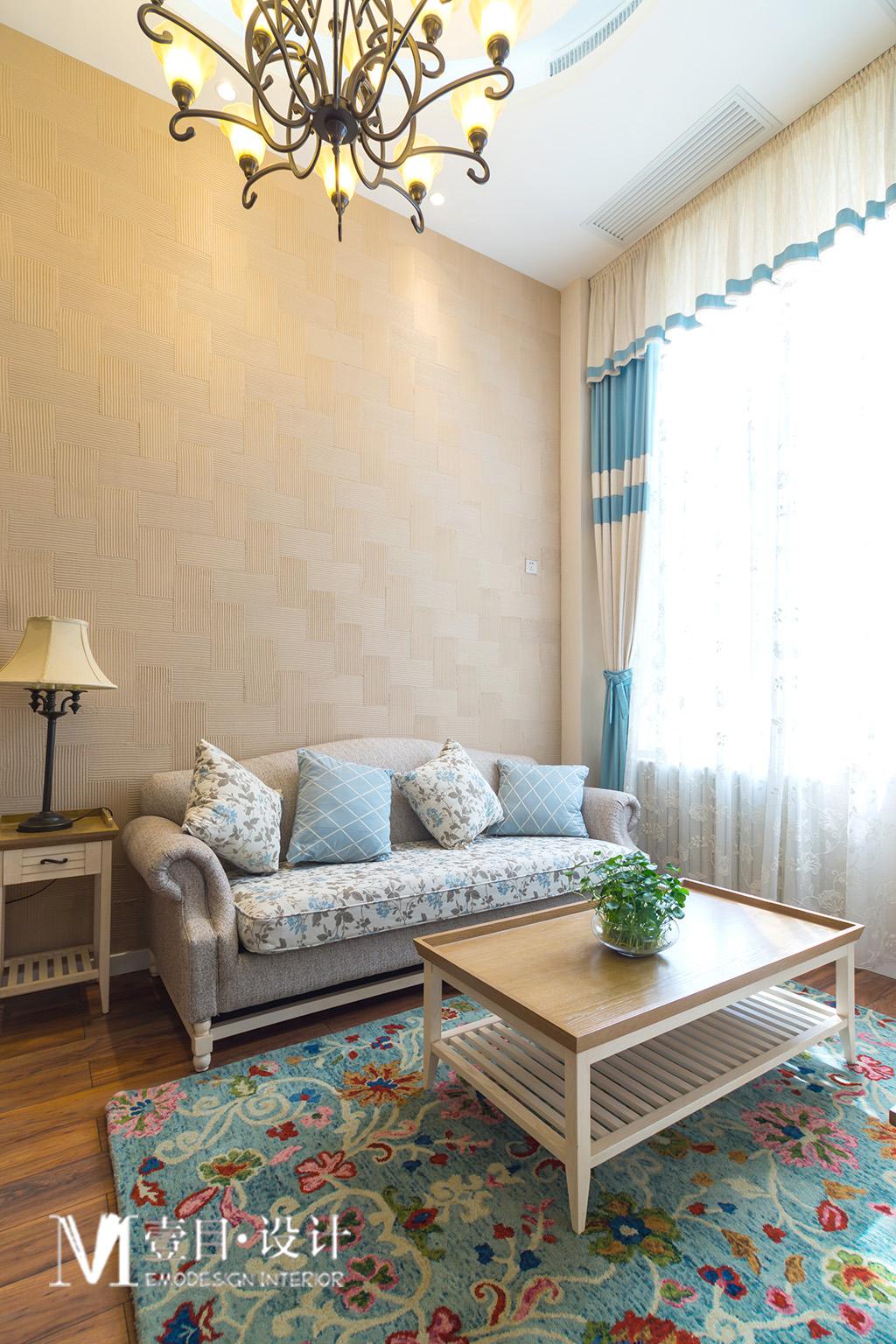 田园 混搭 80后 小资 客厅图片来自壹目设计在《壹目设计》loft的分享