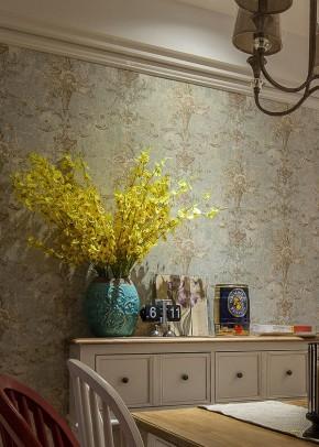 简约 小清新 三居 美式 简美 小资 餐厅图片来自佰辰生活装饰在一墙花开一窗暖阳 89平三室两厅的分享