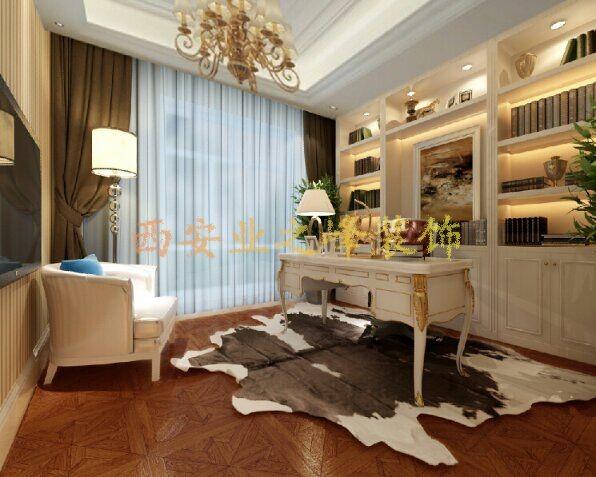 本案为欧式: 1、形式上一浪漫主义为基础,材料为大理石,多彩的织物,精美的地毯,精致的壁挂。 2、华丽的装饰,浓烈的色彩精美的造型