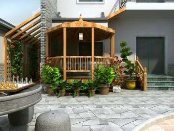 户县民宅240平米现代中式