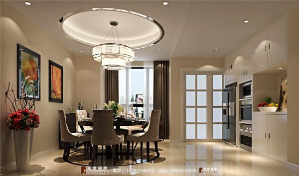 雍湖湾餐厅细节效果图---高度国际装饰设计