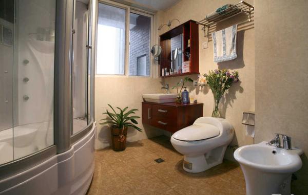 干湿分离的设计让浴室有了更实用的生活体验。